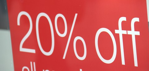 Discounting sales