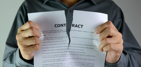 affirmation termination following breach of contract